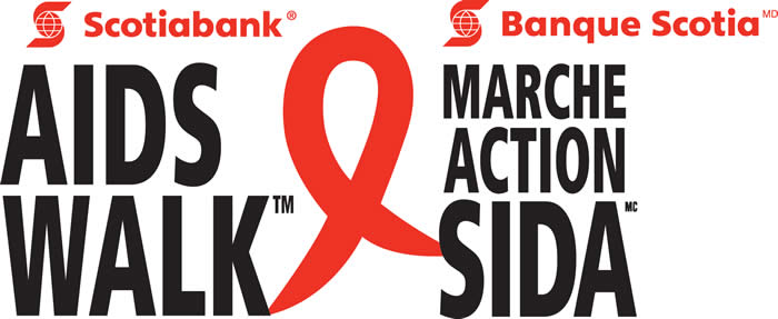 Scotiabank AIDS Walk logo